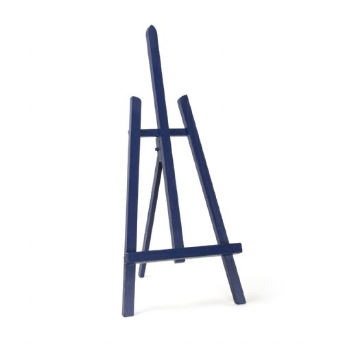 "Navy Blue Colour Easel Essex 24"" - Beech Wood"